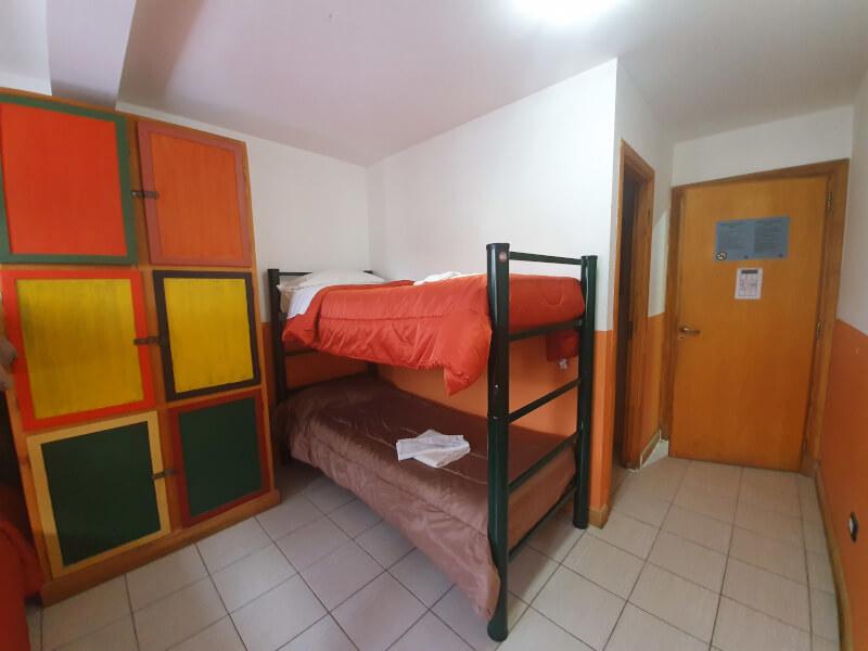 Hostel habitación para 4