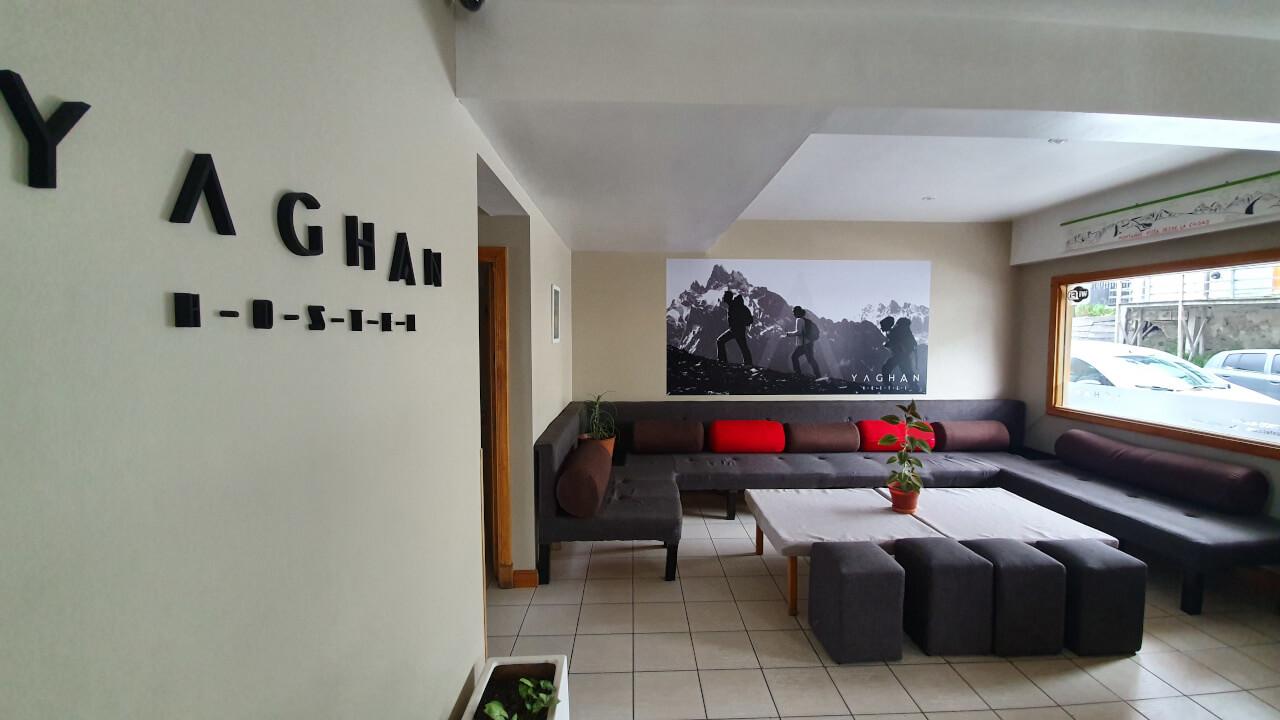 Yaghan Hostel Recepción